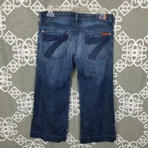7 For All Mankind Jeans - 7 for all mankind crop dojo 27